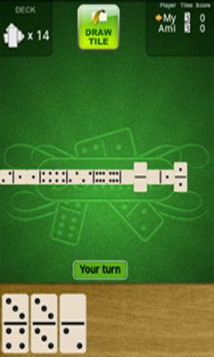 Screenshots von Dominoes Deluxe für Android-Tablet, Smartphone.