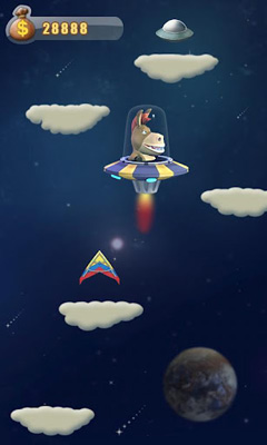 Screenshots do Donkey Jump - Perigoso para tablet e celular Android.