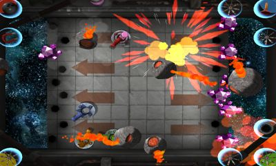 Screenshots von Don't Fall in the Hole für Android-Tablet, Smartphone.