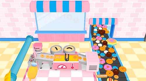 Screenshots von Donuts inc. für Android-Tablet, Smartphone.