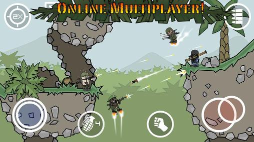 Doodle army 2: Mini militia screenshot 1