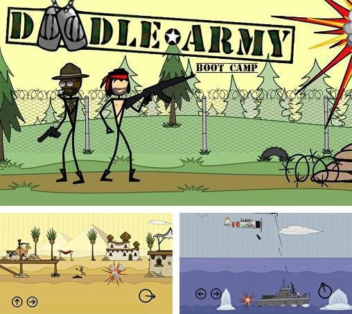 In addition to the game Doodle Army for Android phones and tablets, you can also download Doodle army: Boot camp for free.