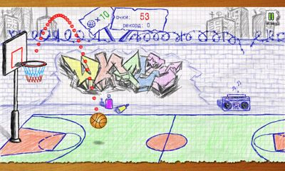 Screenshots von Stickman basketball für Android-Tablet, Smartphone.