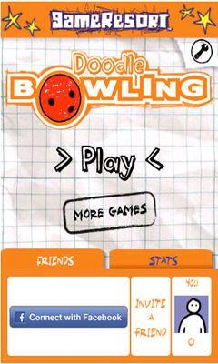 Doodle Bowling poster