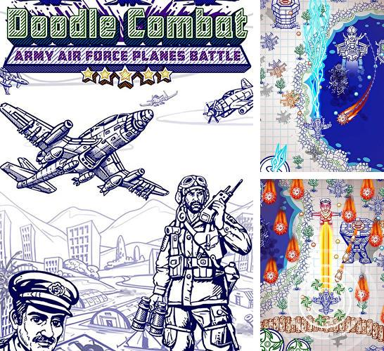 Doodle combat: Army air force planes battle