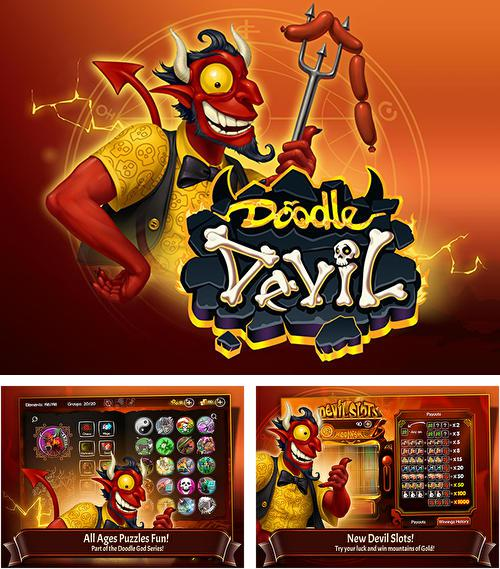In addition to the game Doodle god blitz for Android phones and tablets, you can also download Doodle devil blitz for free.