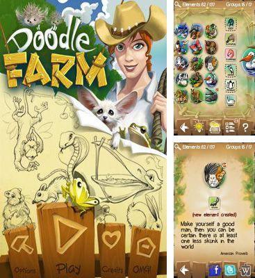 In addition to the game Doodle god blitz for Android phones and tablets, you can also download Doodle Farm for free.