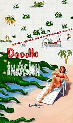 Doodle Invasion poster