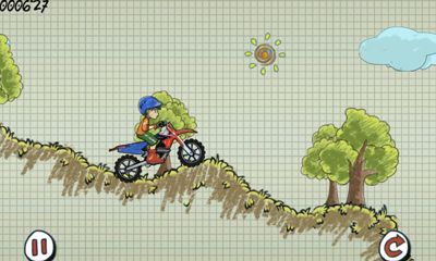Screenshots of the Doodle Moto for Android tablet, phone.
