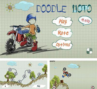 In addition to the game Mountain Moto for Android phones and tablets, you can also download Doodle Moto for free.