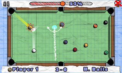 Screenshots do Doodle Pool - Perigoso para tablet e celular Android.