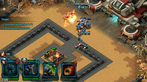 Screenshots von Doom blitz: War strategy für Android-Tablet, Smartphone.