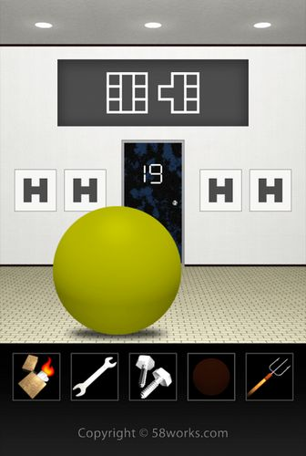 Screenshots von Dooors 4: Room escape game für Android-Tablet, Smartphone.