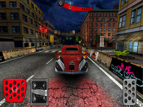Screenshots do Door slammers 2: Drag racing - Perigoso para tablet e celular Android.