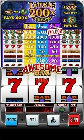 Download Double 200х - Two hundred pay: Slot machine Android free game.