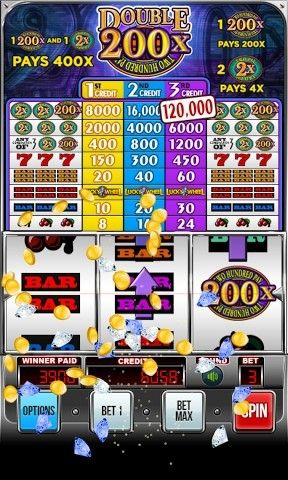 Screenshots of the Double 200х - Two hundred pay: Slot machine for Android tablet, phone.