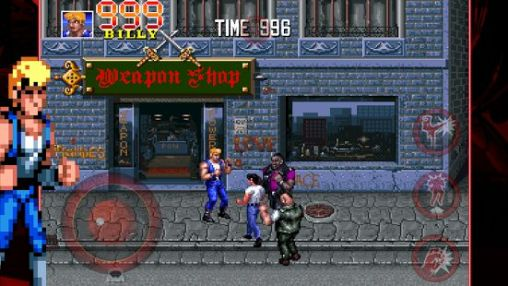 Double dragon: Trilogy screenshot 1