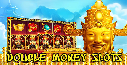 Double money slots poster