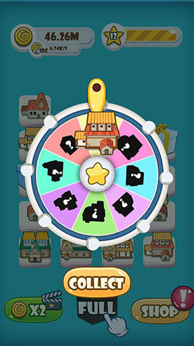 Screenshots von Double town: Merge für Android-Tablet, Smartphone.