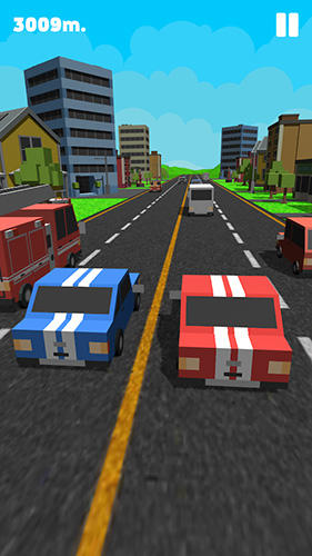 Screenshots von Double traffic race für Android-Tablet, Smartphone.