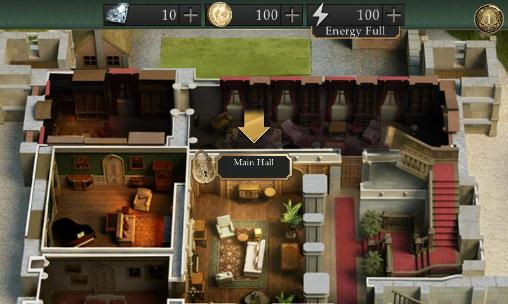 Kostenloses Android-Game Downtown Abbey: Geheimnisse des Schlosses. Das Spiel. Vollversion der Android-apk-App Hirschjäger: Die Downton abbey: Mysteries of the manor. The game für Tablets und Telefone.