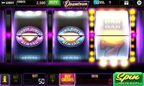 Screenshots von Downtown deluxe slots für Android-Tablet, Smartphone.