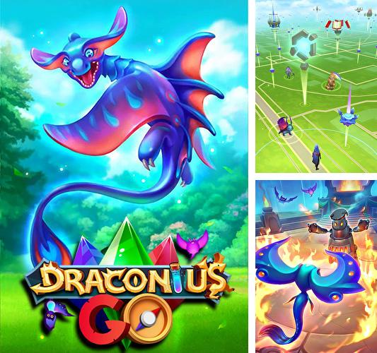 In addition to the game Justice league VR: Join the league for Android phones and tablets, you can also download Draconius go: Catch a dragon! for free.