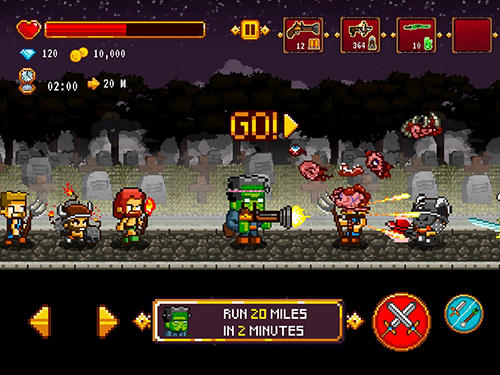 Dracula, Frankenstein and Co vs the villagers screenshot 4