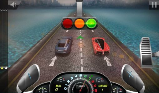 Screenshots do Drag race 3D 2: Supercar edition - Perigoso para tablet e celular Android.