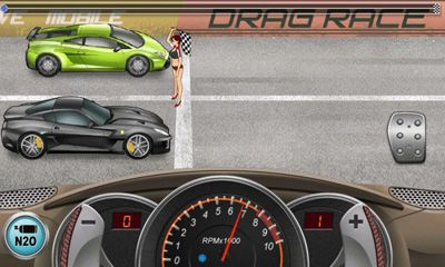 Kostenloses Android-Game Drag Racing. Vollversion der Android-apk-App Hirschjäger: Die Drag Racing für Tablets und Telefone.