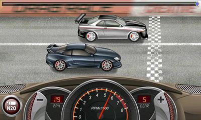 Screenshots von Drag Racing für Android-Tablet, Smartphone.
