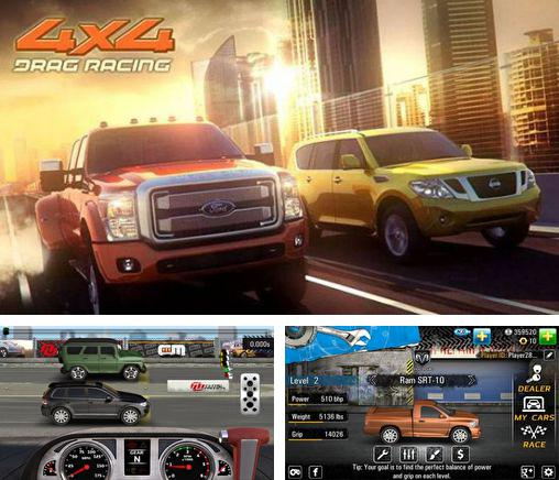 In addition to the game Drag racing 4x4 for Android, you can download other free Android games for Huawei Ascend Y600.