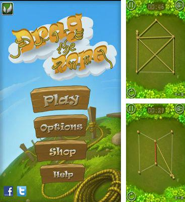 In addition to the game 101 Marbles for Android phones and tablets, you can also download Drag the Rope for free.