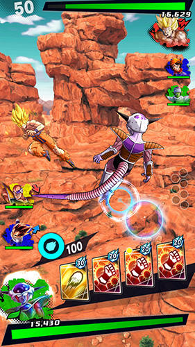 Jogue Dragon ball: Legends para Android. Jogo Dragon ball: Legends para download gratuito.