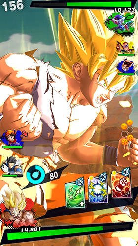 Screenshots do Dragon ball: Legends - Perigoso para tablet e celular Android.