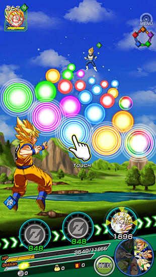安卓平板、手机Dragon ball Z: Dokkan battle截图。