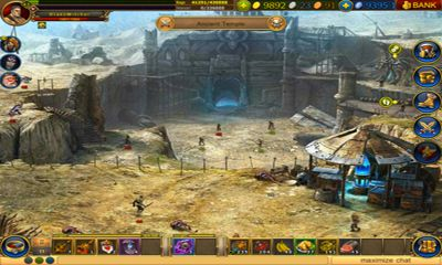 Screenshots von Dragon Eternity HD für Android-Tablet, Smartphone.