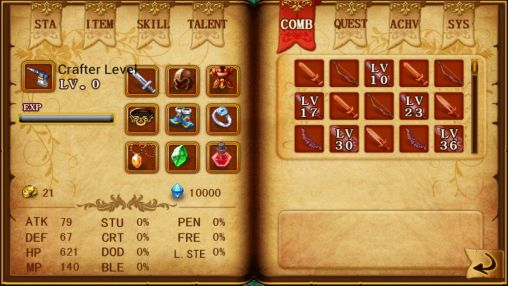 Screenshots do Dragon fighting mission RPG - Perigoso para tablet e celular Android.