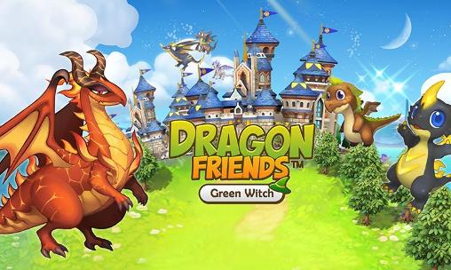 Dragon friends: Green witch обложка