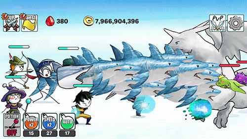 Screenshots von Dragon hunter clicker für Android-Tablet, Smartphone.