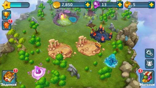 Screenshots von Dragon lands für Android-Tablet, Smartphone.