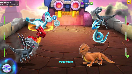 Screenshots von Dragon mania: Legends für Android-Tablet, Smartphone.