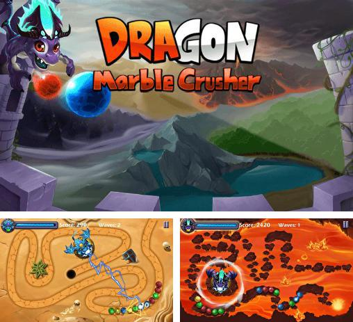 In addition to the game Fruit shooter saga for Android phones and tablets, you can also download Dragon marble crusher for free.