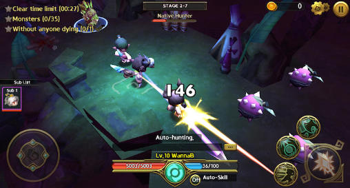 Kostenloses Android-Game Drachen Nest: Labyrinth. Vollversion der Android-apk-App Hirschjäger: Die Dragon nest: Labyrinth für Tablets und Telefone.
