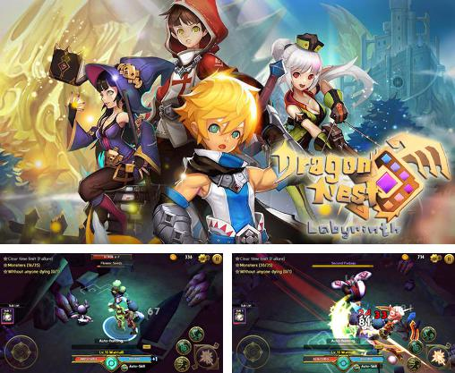 In addition to the game Heroes: Islands of adventure for Android phones and tablets, you can also download Dragon nest: Labyrinth for free.