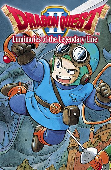 Dragon quest 2: Luminaries of the legendary line
