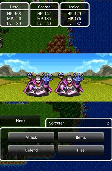 Descarga gratuita del juego Búsqueda del dragón 2: Luminarias de la legendaria línea  para Android. Consigue la versión completa de la aplicación apk de Dragon quest 2: Luminaries of the legendary line para tabletas y teléfonos Android.