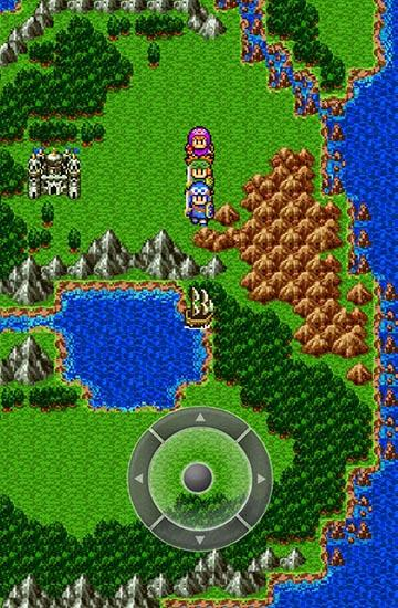 Écrans de Dragon quest 2: Luminaries of the legendary line pour tablette et téléphone Android.