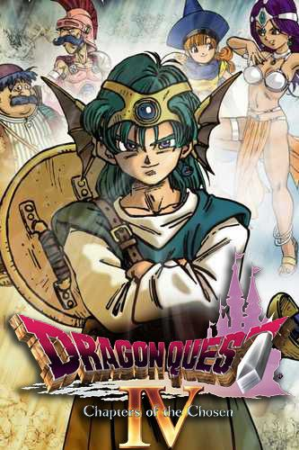 Dragon quest 4: Chapters of the chosen poster