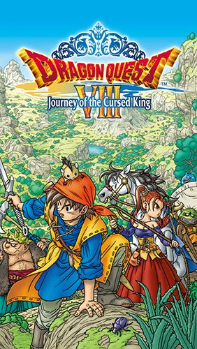 Dragon quest 8: Journey of the Cursed King poster